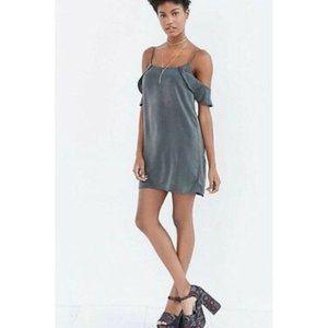 NEW UO Kimchi Blue Cold Shoulder dress